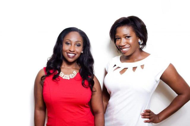 Founders of Mented Cosmetics, KJ Miller and Amanda Johnson.