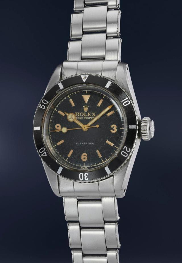 "Rolex Submariner ""Big Crown"" reference 6200"