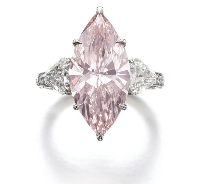 7-carat fancy intense light pink diamond fetched more than $3 million