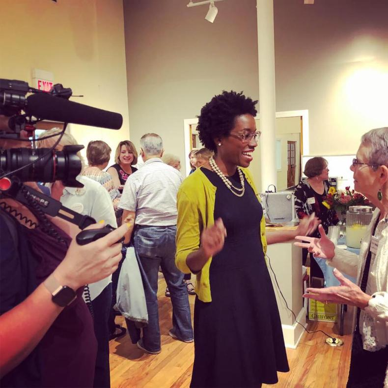 Lauren Underwood running for Congress in 2018. SURGE film following Lauren's race.