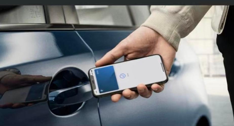 Unlock your car with an iPhone