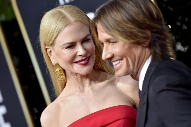 Celebrity Australian couple, actress Nicole Kidman and country music singer Keith Urban