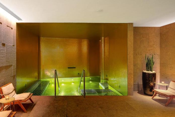 Vitality pool at Bvlgari Hotel London
