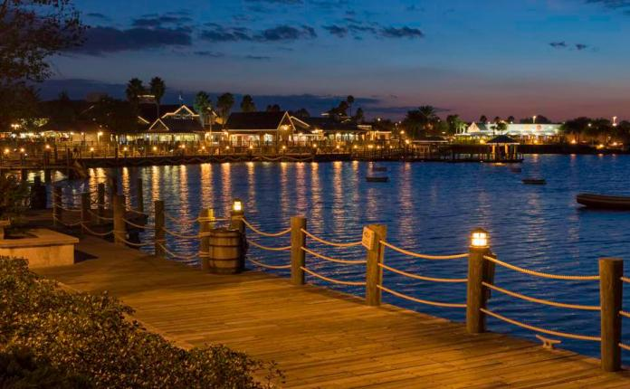 Harbor Lights and Boardwalk in The Villages, Florida