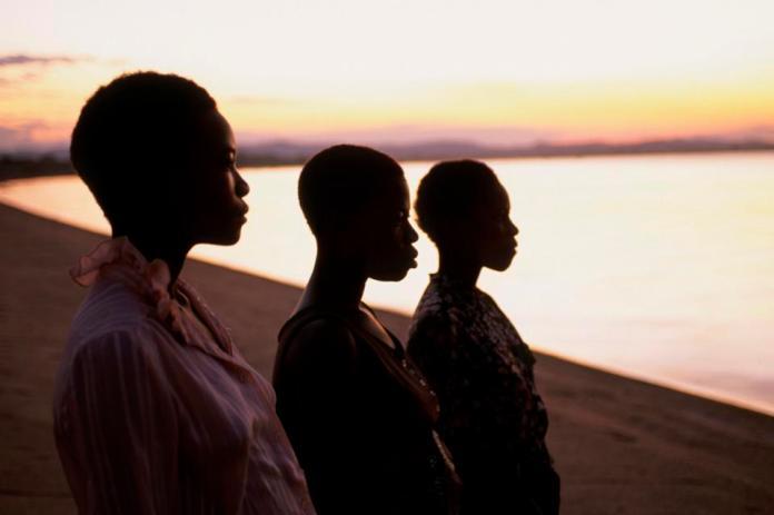 Sunset Over Malawi Lake. Africa