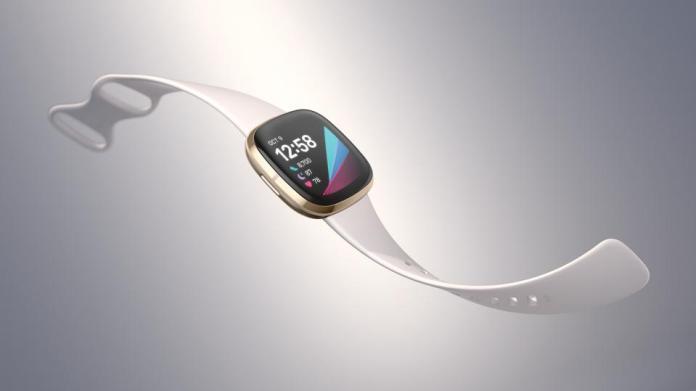 The Fitbit Sense.