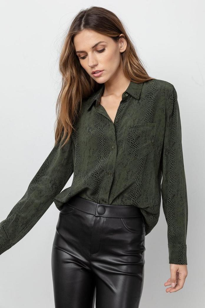 Kate Silk Shirt by Rails