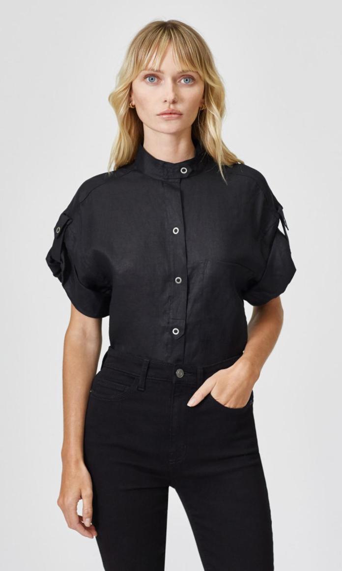 Drace Linen Shirt by Equipment