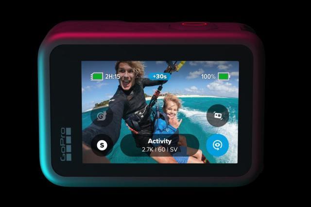 GoPro Hero 9 Black rear screen