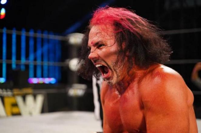 Matt Hardy endured a scary bump at AEW All Out.