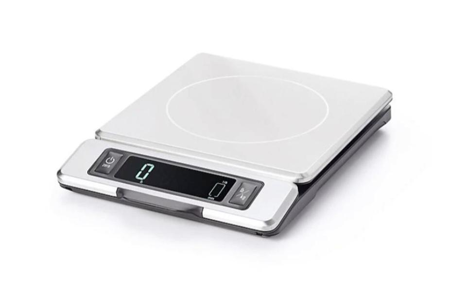 OXO Good Grips Stainless Steel Food Scale with Pull Out Display