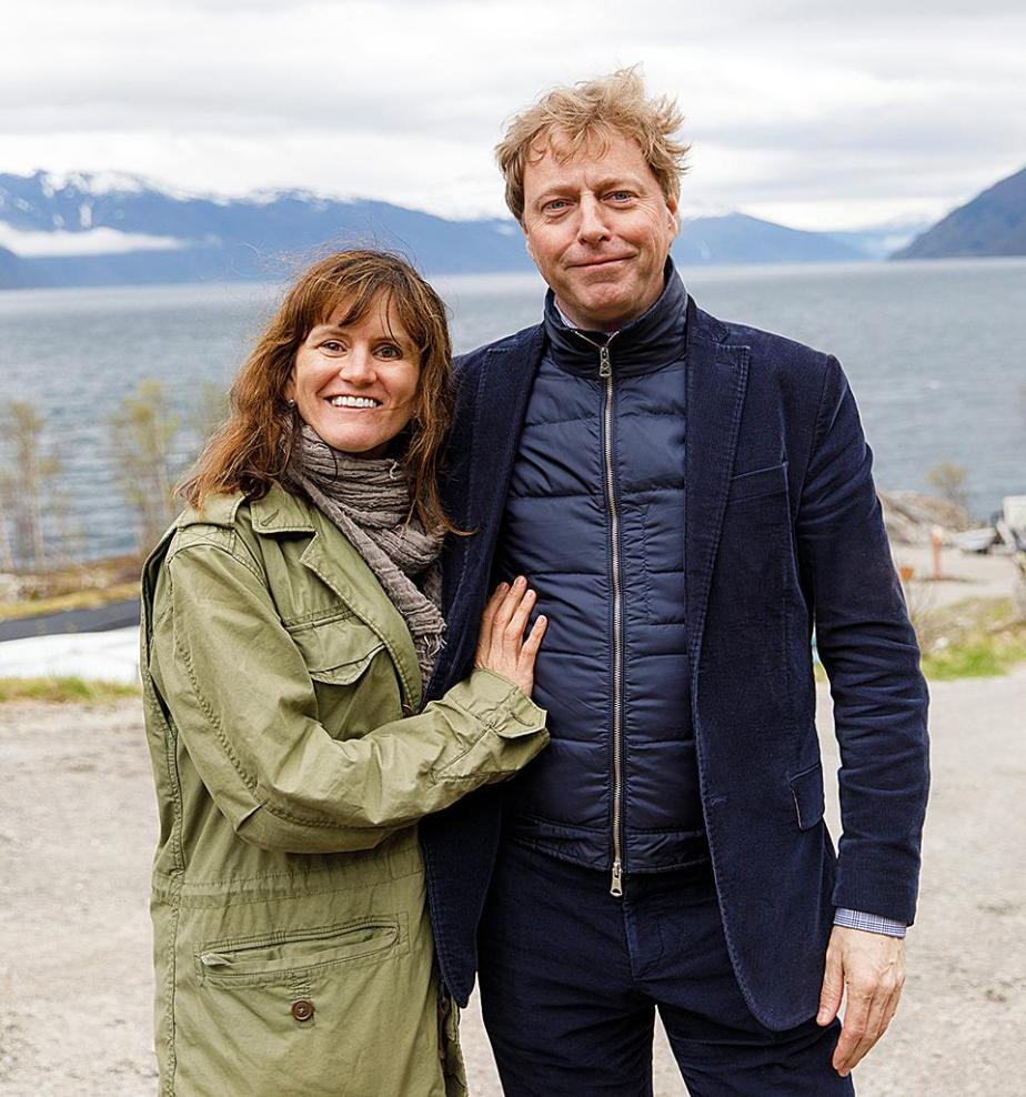 Novogratz and Velings visit Glitne, a Bergen, Norway based halibut farm they invested in 2016.