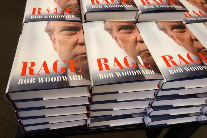 Bob Woodward Book ″Rage″ Hits Bookstores