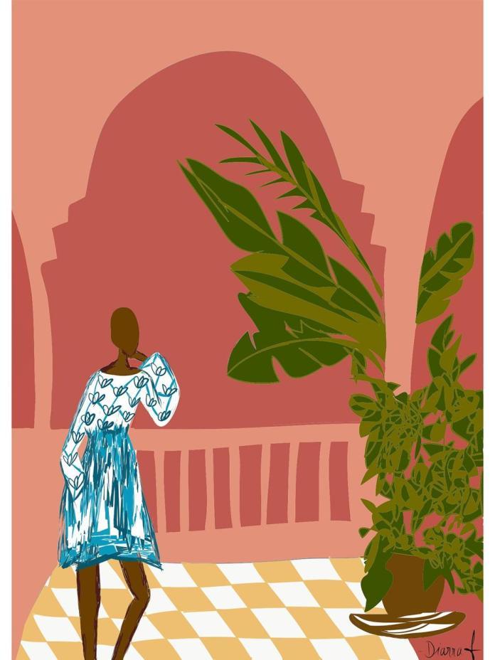 art print by Diarra Bousso