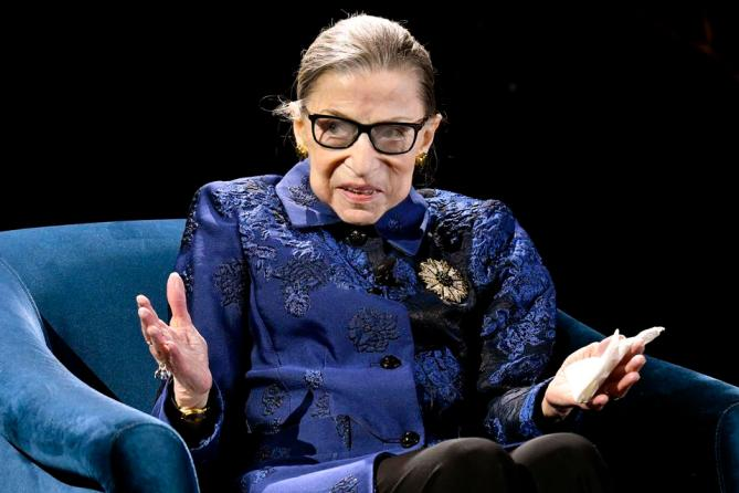 Ruth Bader Ginsburg Delivered The Best Career Advice You'll Ever Hear, In Just One Sentence