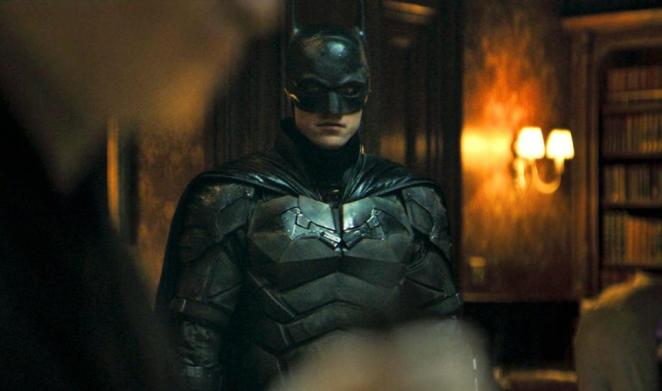 Robert Pattinson as Batman in Matt Reeves' 'The Batman'