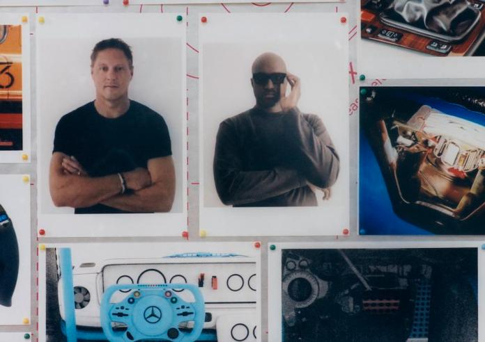 Mood-board of Project Geländewagen by Gorden Wagener and Virgil Abloh