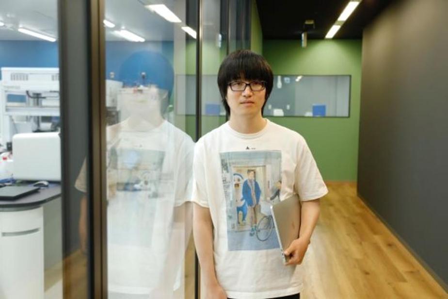 Abe Motoki, a bioinformatics engineer at Preferred Networks
