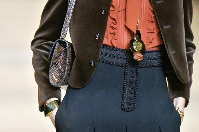 Celine : Details - Paris Fashion Week Womenswear Fall/Winter 2020/2021