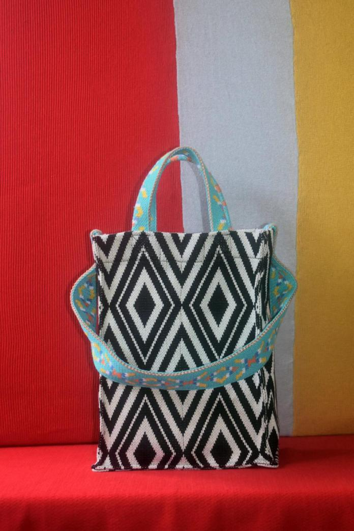 Black Talisay Tote by Allena for ArteFino Reimagined