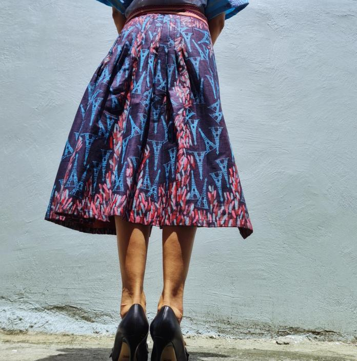 Tiffany Skirt by Local HAF at ArteFino Reimagined