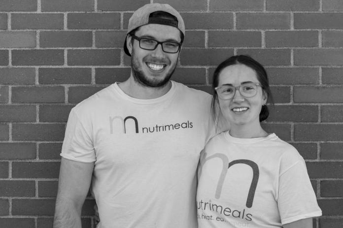 Nutrimeals co-owners Grace Clark and Samuel Hale.