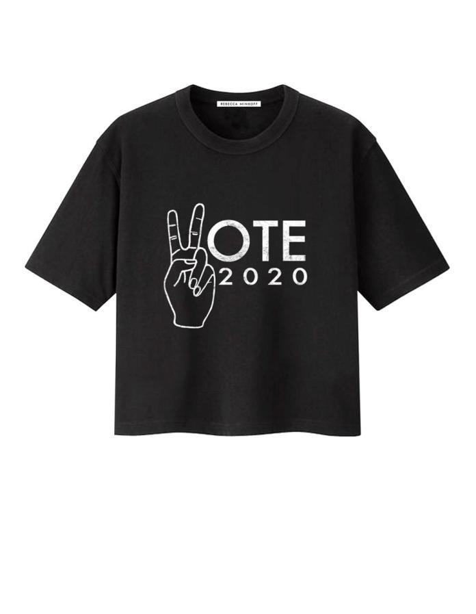 Rebecca Minkoff, Vote, Vote tee, Vote Run Lead