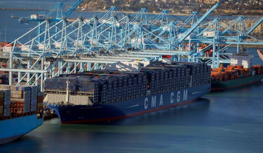 US-FRANCE-SHIPPING-CMA CGM BENJAMIN FRANKLIN