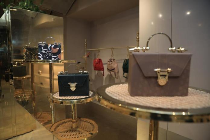 Egyptian luxury accessory brand, Okhtein opens their flagship store.
