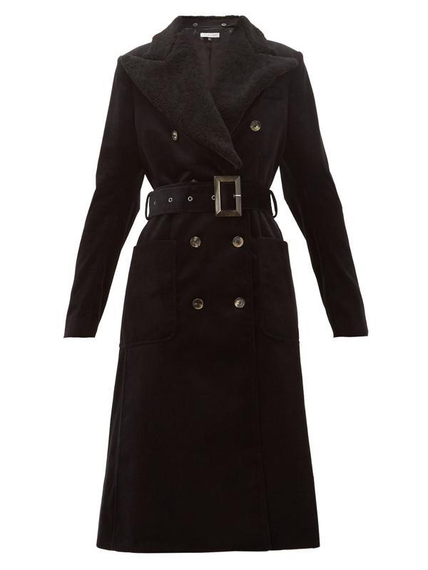 Corduroy Ivan Trench Coat by Bella FreudCorduroy Ivan Trench Coat by Bella Freud
