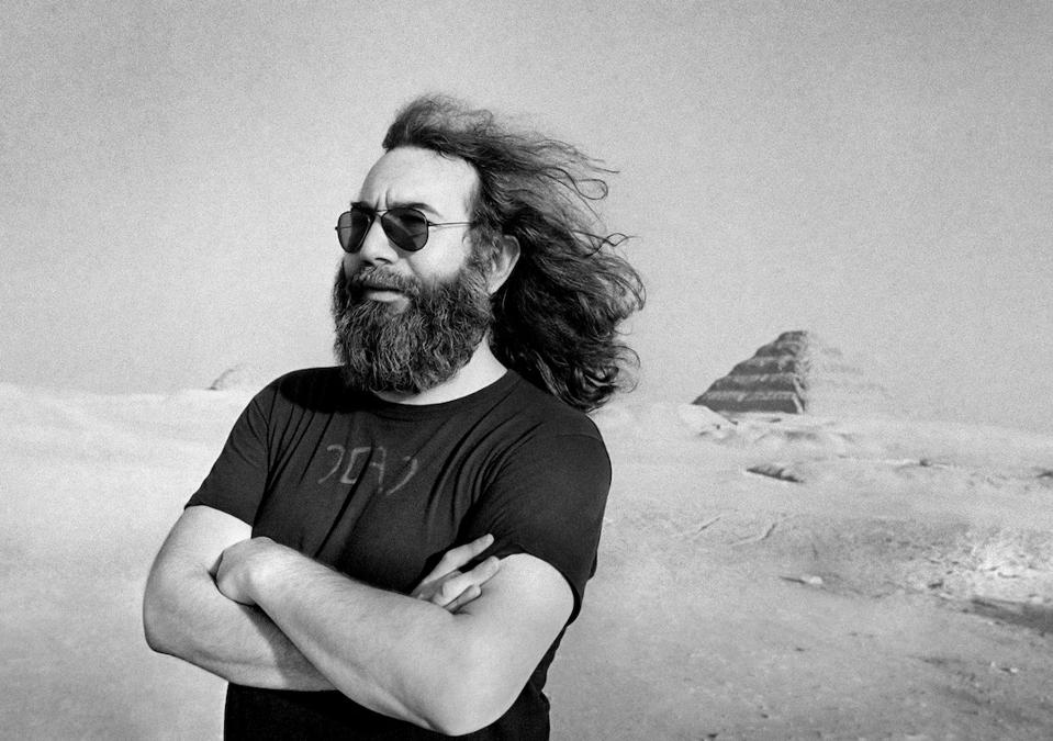 Jerry Garcia, Egypt 1978, Grateful Dead, Garcia Hand Picked, Holistic Industries, cannabis