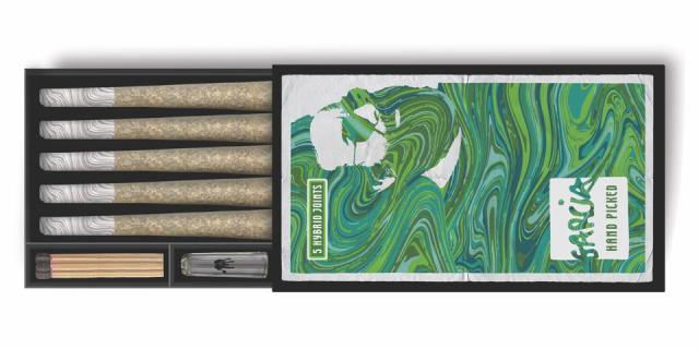 Garcia Hand Picked, Jerry Garcia, pre-rolls, cannabis culture, Holistic Industries