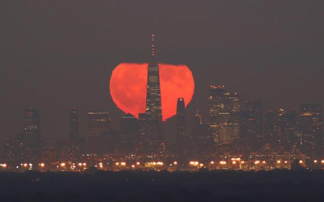 Second Full Moon Of October, A ″Blue Moon″, Falls On Halloween