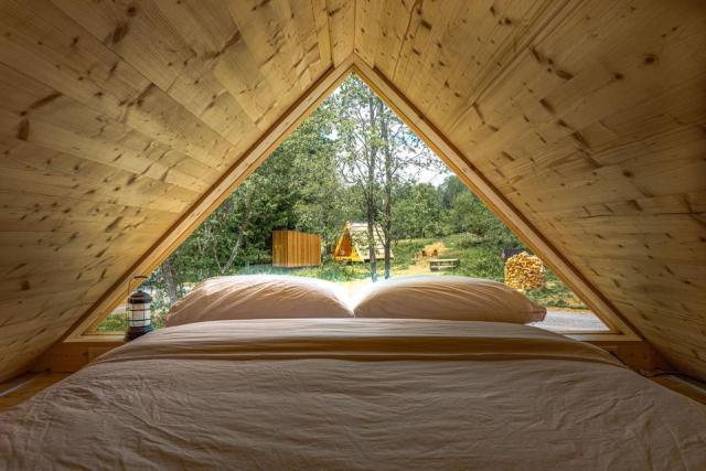 Lushna cabins and suites provide an ultimate glamping experience.