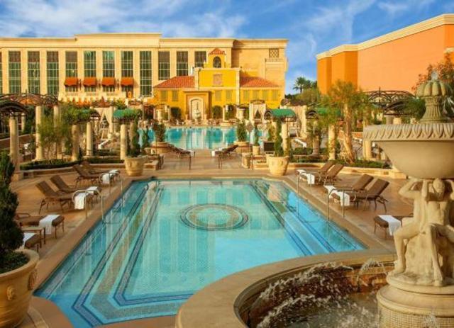 Pool at the Venetian Resort in Las Vegas