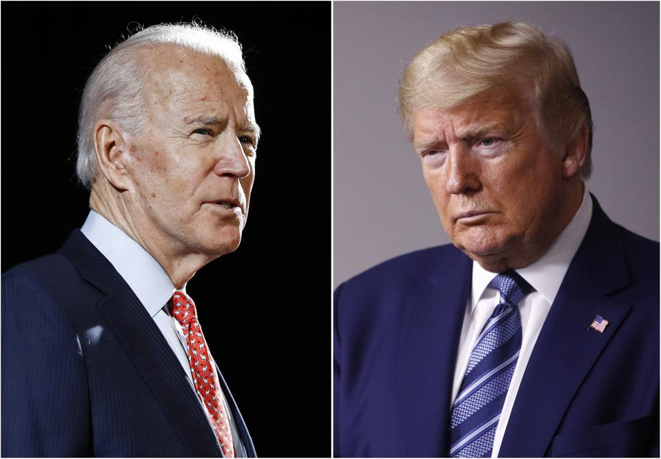 Trump and Biden both advertised extensively on Facebook, along with other digital advertising.