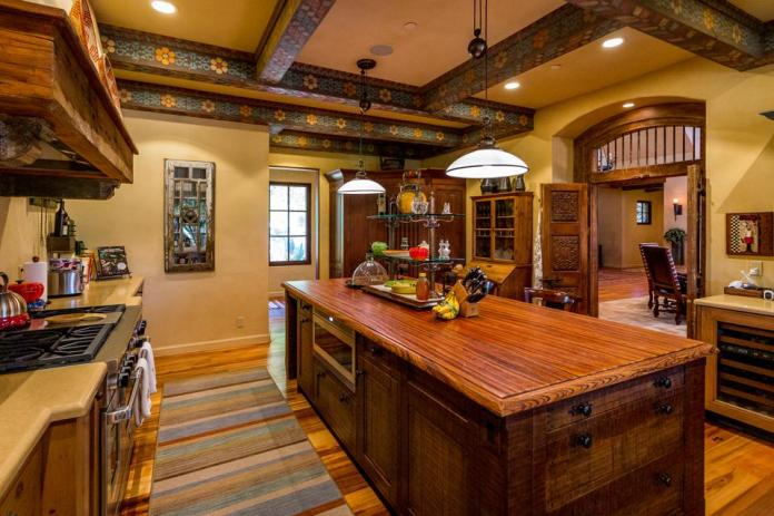 La Panza Ranch, California, outlaw Jesse James, real estate, cattle, olive oil, kitchen