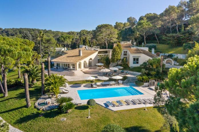 A luxury home in France's village of Mougins.