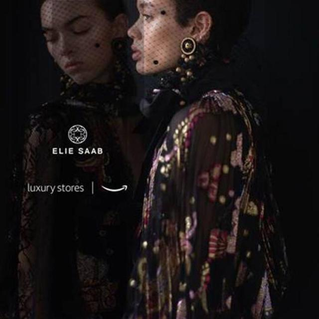Elie Saab collaboration with Amazon's Luxury Stores