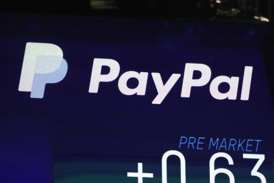Wall Street Financial Markets PayPal