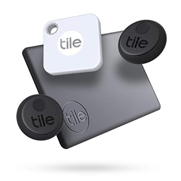 Tile Mate, Slim, and two Stickers