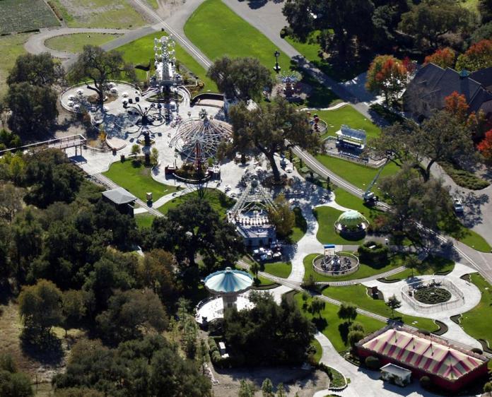 Michael Jackson's infamous Neverland Ranch