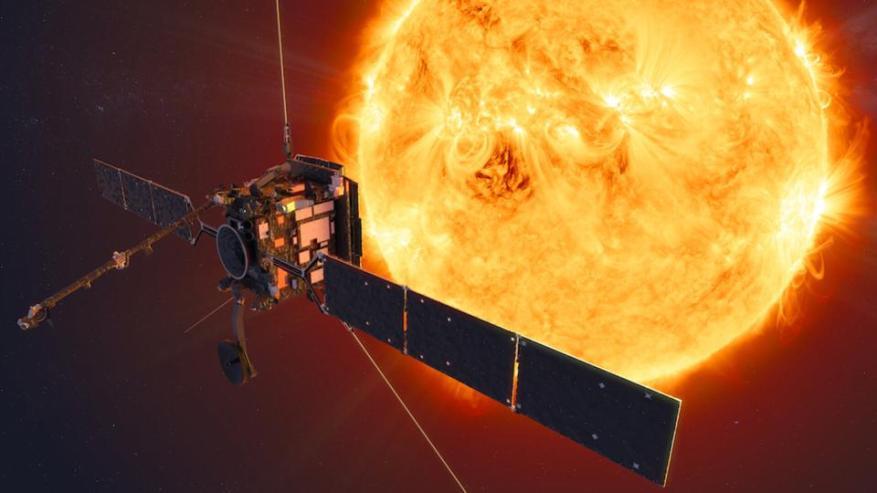 Solar Orbiter und die Sonne