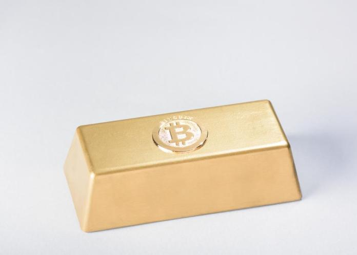 Bitcoin gold bar