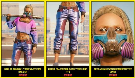 'Cyberpunk 2077' Won't Let You Preview Clothing, So A Fan ...