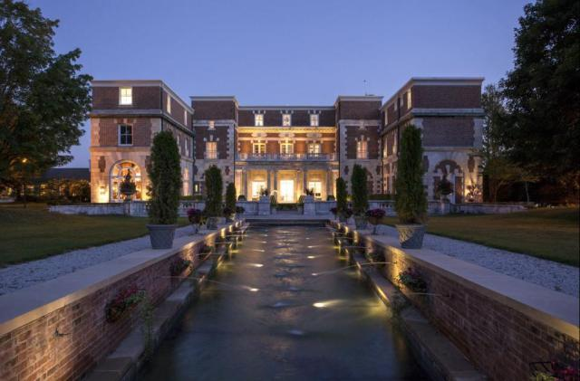 The lovely Canyon Ranch Mansion