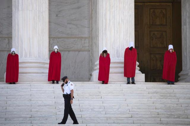 SCOTUS PROTEST Handmaid's Tale