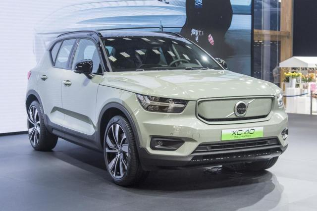 The compact XC40 crossover is the only current Volvo electric vehicle (EV).
