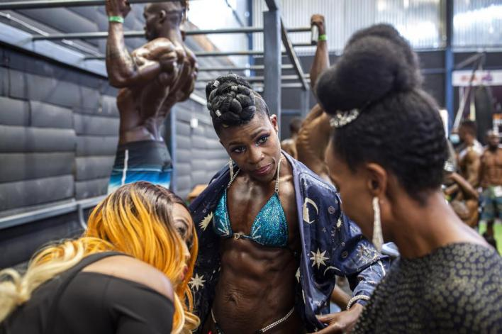 Sony World Photography Awards:  Iron Fit Bodybuilding competition in Nairobi