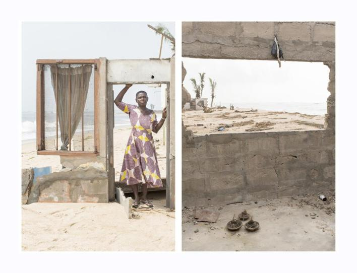 Sony World Photography Awards: the disappearing town of Fuvemeh, Ghana from coastal erosion